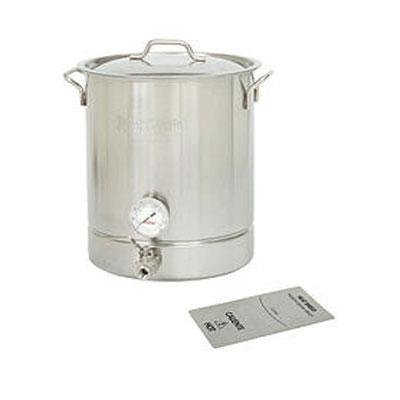 8Gal SS Standrd 4pc Brew Kettl by Barbour
