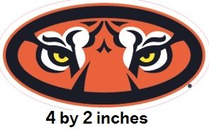 395e4daa30f Amazon.com  4 Inch Aubie the Tiger Auburn University Tigers AU Logo  Removable Wall Decal Sticker Art NCAA Home Room Decor 4 by 2 Inches  Baby