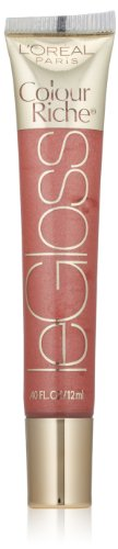 L'Oréal Paris Colour Riche Le Gloss, Nude Touch, 0.4 fl. oz. (L Oreal Paris Colour Riche Extraordinaire Lip Gloss)