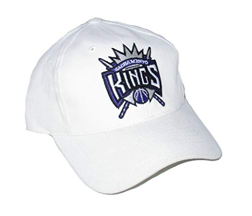 Reebok Sacramento Kings Adjustable Hat Cap - White