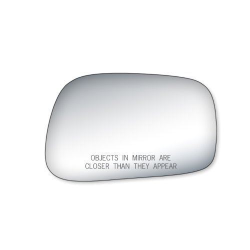 Fit System 90186 Toyota Matrix Passenger Side Replacement Mirror Glass (Matrix Side Mirror Toyota)