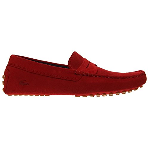 Lacoste Mens Concours 116 1 Mocassino Slip-on Rosso