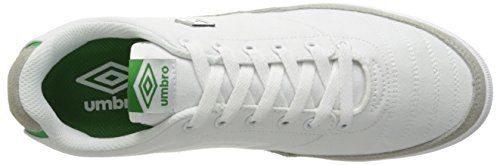 Umbro Heren Bleeker Fashion Sneaker Wit / Groen