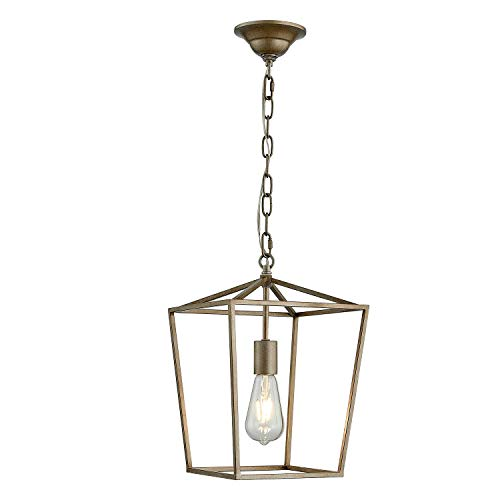 Antique Gold Pendant Light in US - 4