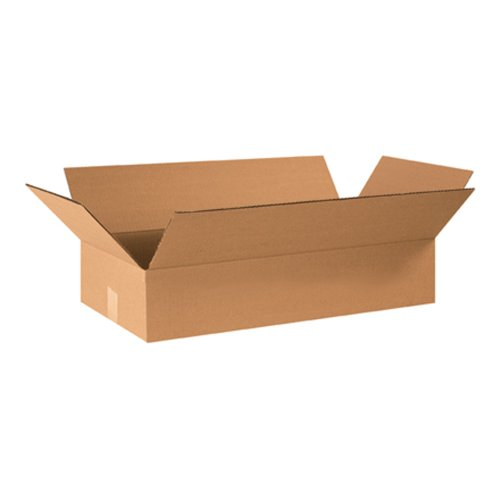 Flat Corrugated Boxes (Aviditi 24124 Flat Corrugated Box, 24