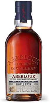 Aberlour TRIPLE CASK Highland Single Malt Scotch Whisky 40% - 700 ml in Giftbox