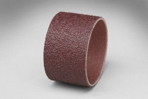3M 341D Coated Aluminum Oxide Spiral Band - 36 Grit - 1 in Width - 1 1/2 in Dia - 14000 Max RPM - 40203 [PRICE is per EVENRUN BAND]
