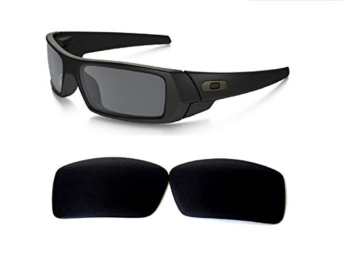 9538e8dbbd Galaxy Replacement lenses For Oakley Gascan Polarized Black 100% UVAB