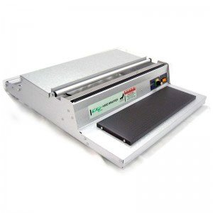 U-450 Stainless Steel Heat Plate & Hand Wrapper for Food Packaging from ABC Office