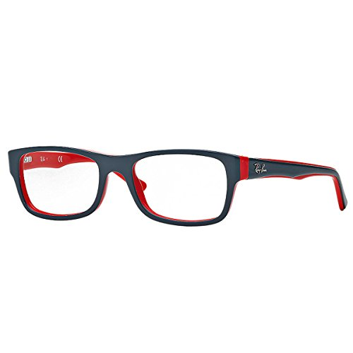 Ray Ban Brillengestell grau/rot