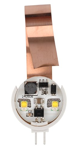 - Starlights, Inc. (STB2M) AP Products 016-G4-160SP Star Lights LED Replacement for G4 Bi Halogen-Side Pin, 160 Lumens