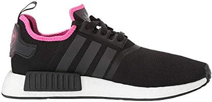 adidas Originals Men's NMD_R1 Running Shoe, BlackShock Pink