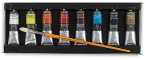 Sennelier Artist Oils Plein Air Set Of 8 by Sennelier Artist oils