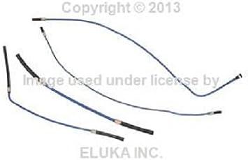 GENUINE 92-95 BMW e36 Fuel Hose Kit for Mounting Tank 4 hoses