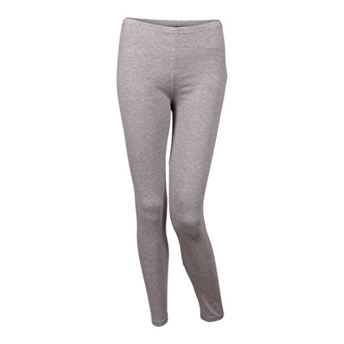 Friday Chic GCKNITWEAR Women's Leggings (Large, Grey Heather)