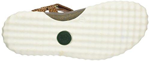 Panama Jack Damer Caribel Snake Åbne Sandaler Med Kilehæl Brun (bark) KHSv8RA