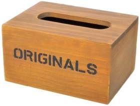 Caja para pañuelos (madera, hipsteen recipiente caja porta pañuelos papel toallitas húmedas: Amazon.es: Bricolaje y herramientas