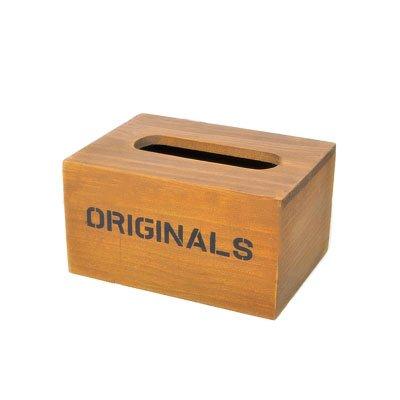 Caja para pañuelos (madera, hipsteen recipiente caja porta pañuelos papel toallitas húmedas