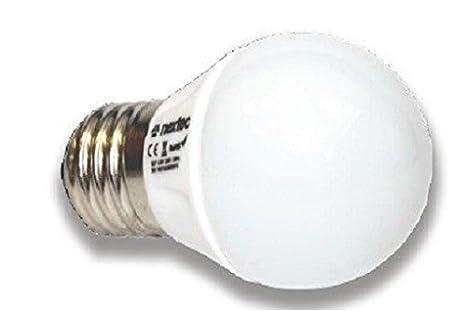 Bombilla LED Nextec E27 3,5 W (25 W) 250 lm 220 V/230 V bombillas de luz blanca cálida: Amazon.es: Electrónica