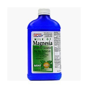 Milk Of Magnesia Liquid Mint 16 Oz