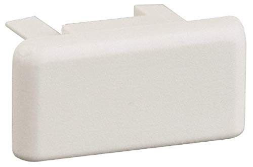 Hubbell Lighting - 1-1/2 Inch Wide x 3/4 Inch High, Light Fixture White Cap (40 Pack)