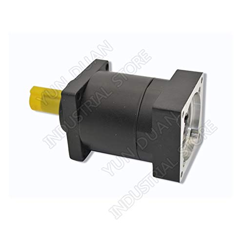 Fevas Ratio10 16 24 36:1 Nema24 60mm Planetary Gearbox Speed Reducer Shaft 14mm Carbon Steel Gear for 200W 400W 600W Servo Motor