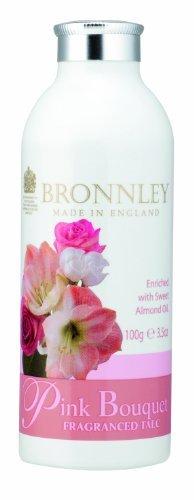 Bronnley Pink Bouquet Fragranced Talc 100g by Bronnley