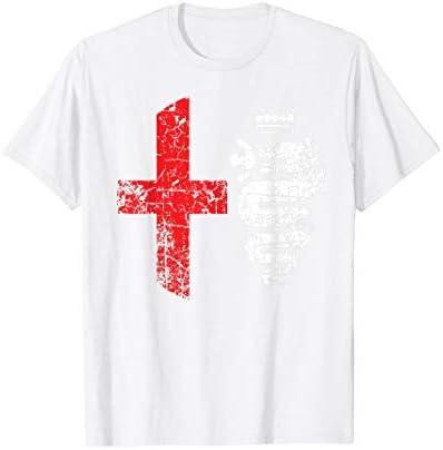 WORKhard9 Alfa Car Drivers Stilvolles Grunge-Logo T-Shirt