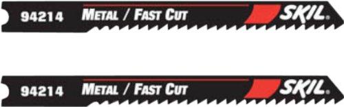 SKIL 94214C2 2-3/4-Inch 14 TPI High Speed Steel U-Jigsaw Bla