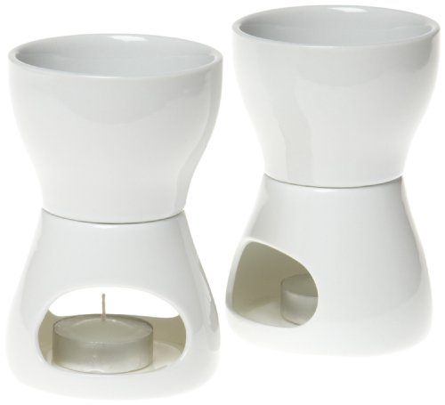 Norpro 213 Porcelain Butter Warmer, 2pc set by Norpro