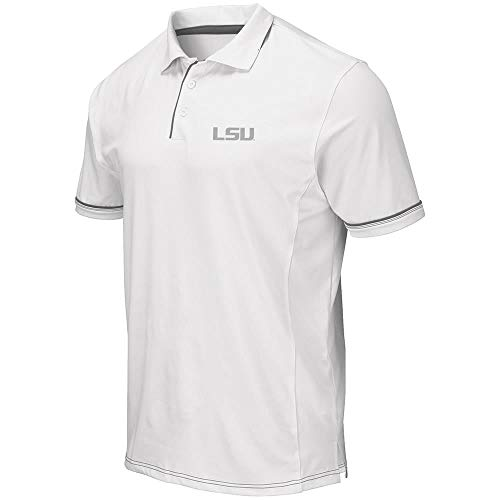 Mens LSU Louisiana State Tigers Iceland Polo Shirt - 2XL