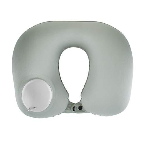 Almohadas de Viaje, Joly Joy Almohada Adjustable & Inflatable en Forma de U para la Siesta, Dormir, Proteger el Cuello Ideal...