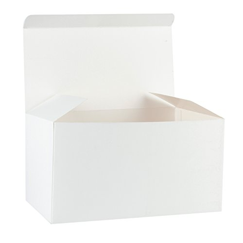 RUSPEPA Recycled Cardboard Gift Boxes - Decorative Favor Box with Lids for Gifts, Party, Wedding -9