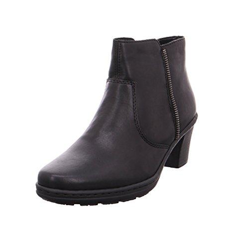 Rieker Stiefelette , Farbe: schwarz Schwarz