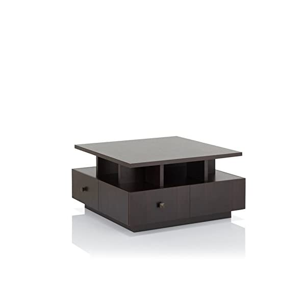 Fantastic Zuri Furniture Mcintosh High Gloss Coffee Table With Storage Short Links Chair Design For Home Short Linksinfo