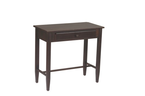 Home Star OSP Designs Foyer Table, Espresso (Espresso Finish Sofa Table)