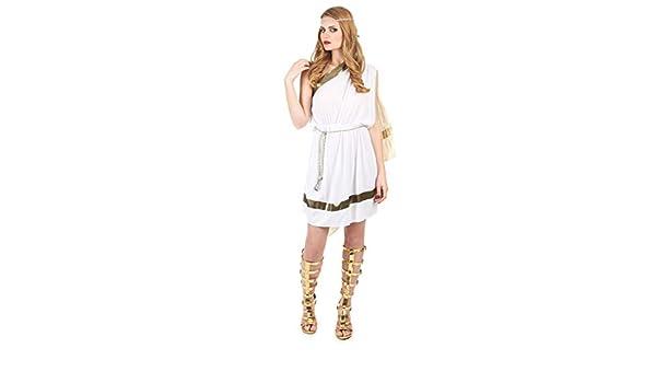 Disfraz de romana para mujer L: Amazon.es: Juguetes y juegos