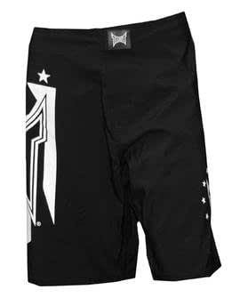 TAPOUT NEW Men's Board Shorts Shield black UFC MMA (28)