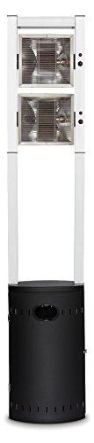 Enders Terrassenheizer Gas, Ecoline Pure, schwarz / aluminium, 45 x 42 x 213 cm, 5640