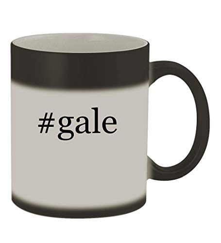 #gale - 11oz Color Changing Hashtag Sturdy Ceramic Coffee Cup Mug, Matte Black from Knick Knack Gifts