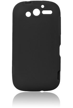 HTC T-Mobile myTouch 4G (HD) Silicone Skin Case - Black