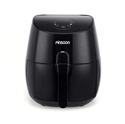 PINSOON Oilless Air Fryer with Digital LED Touc...