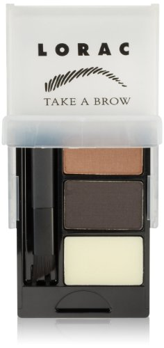 LORAC Take A Brow Kit, Dark Brown