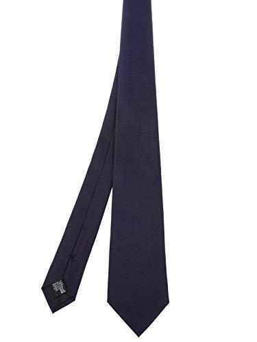 Armani Collezioni Men's 3500277P30000035 Blue Silk Tie