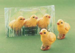 tag Baby Chick Candles ()