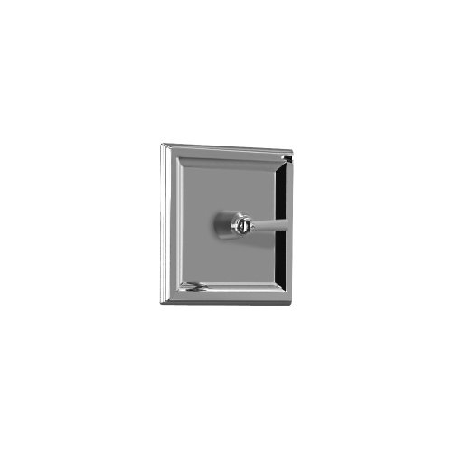 0.75' Stop Valve (American Standard T555.730.002 Town Square Central Thermostat Trim Kit, Metal Lever Handle, Must Order On/Off Volume Control, Polished Chrome)