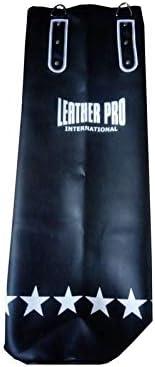 Sacco Boxe Leather Pro Vuoto 30-40-50 kg in Ecopelle 120x45 cm TecnoFit Cod SB120x45