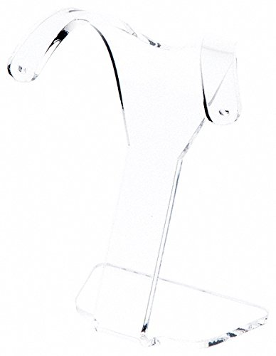 c40757bc2 Image Unavailable. Image not available for. Color: Plymor Brand Clear  Acrylic Divided Pair Hanging Earring Display Stand ...