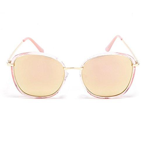 TIME100-la série de Smileyes Lunettes de soleil femme et monture de lunette en amande à la mode changement graduel2017 TSGL049 Rose