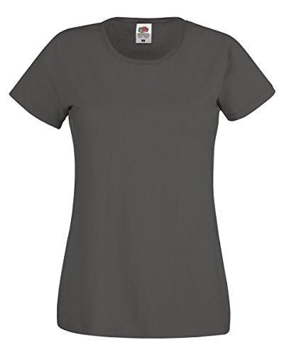 Absab Camiseta Grafito Ltd Claro Gris Mujer USWT7ASq
